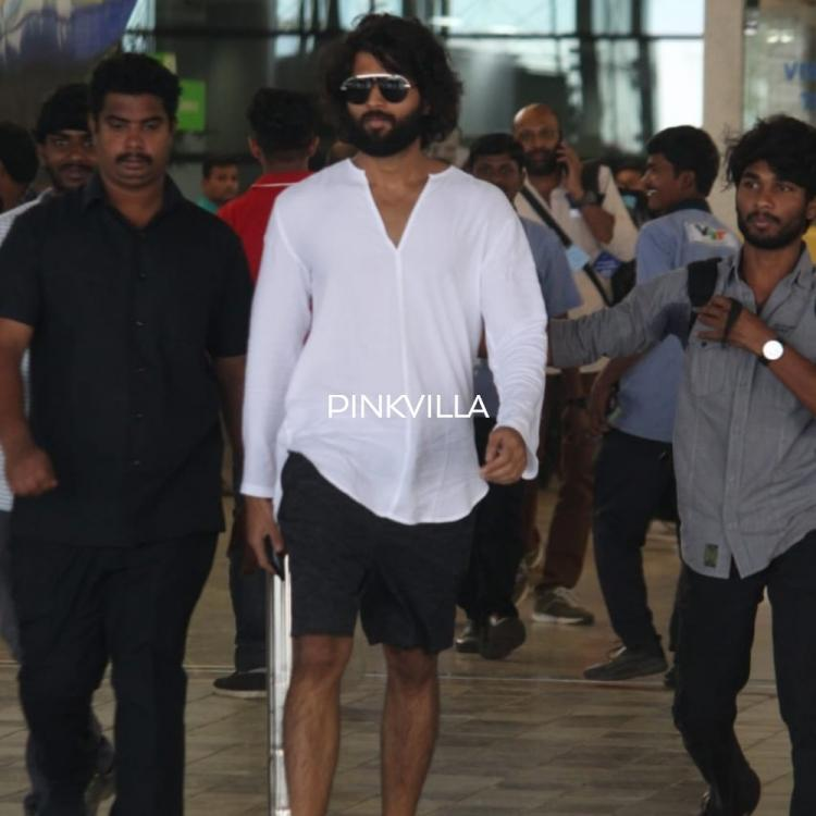 PHOTOS: Vijay Deverakonda looks suave in a casual outfit as he arrives in style at the airport