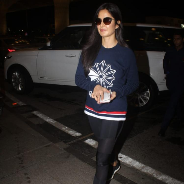PHOTOS: Katrina Kaif flashes her captivating smile as she gets papped at the airport