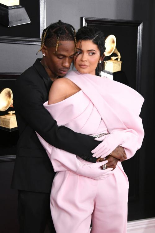 Along with Kylie Jenner, Travis Scott and a wedding dress, a possible wedding tux also came on-board the private jet.