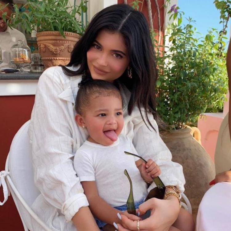 Kylie Jenner & Stormi Webster make the most out of their time in self isolation as they bake cookies together