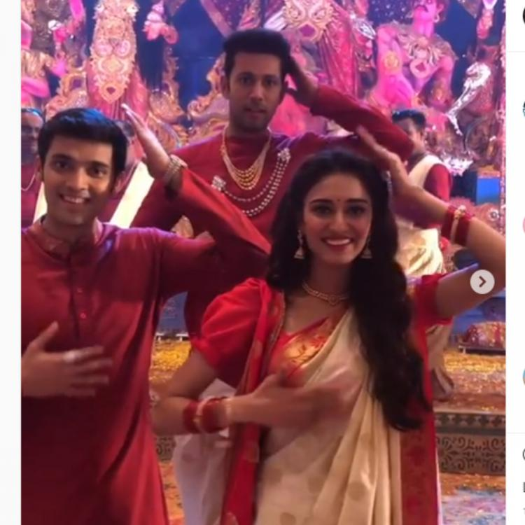 Kasautii Zindagii Kay's Parth Samthaan, Erica Fernandes & others doing the body brain teaser is hilarious AF