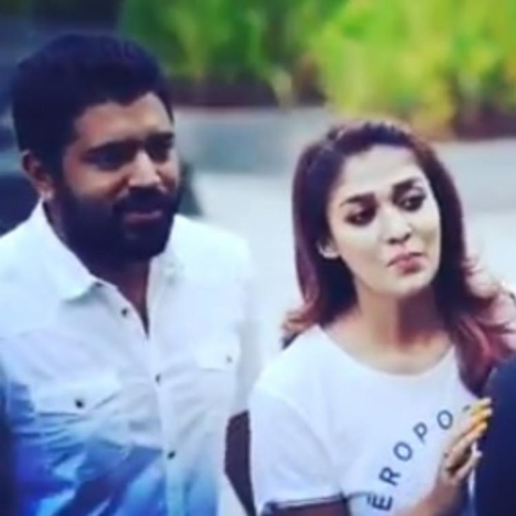 Love Action Drama: Nayanthara shows co star Nivin Pauly how to strike a perfect pose; Watch Video