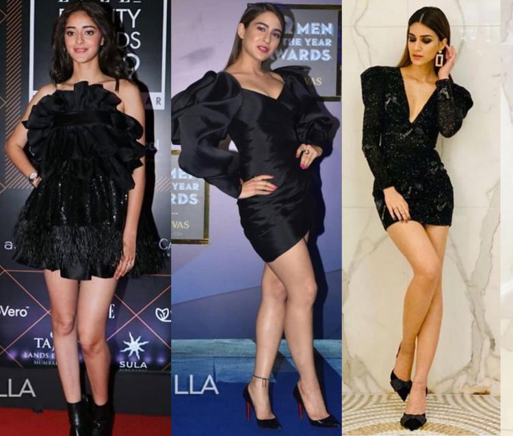 From Sara Ali Khan to Kriti Sanon; B-Town divas prove that the forgotten LBDs are back in style