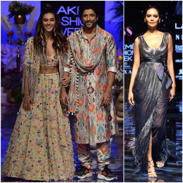 Lakme Fashion Week Day 1: Farhan Akhtar, Shibani for Payal Singhal, Esha Gupta for Pallavi Mohan open the show