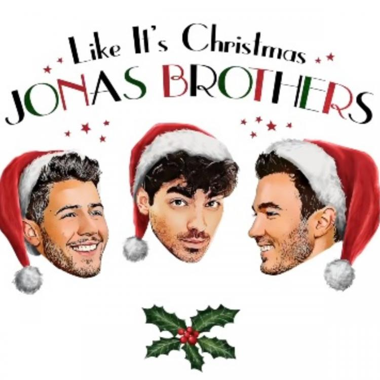 Jonas Brothers release their third holiday song Like It's Christmas; Check it out