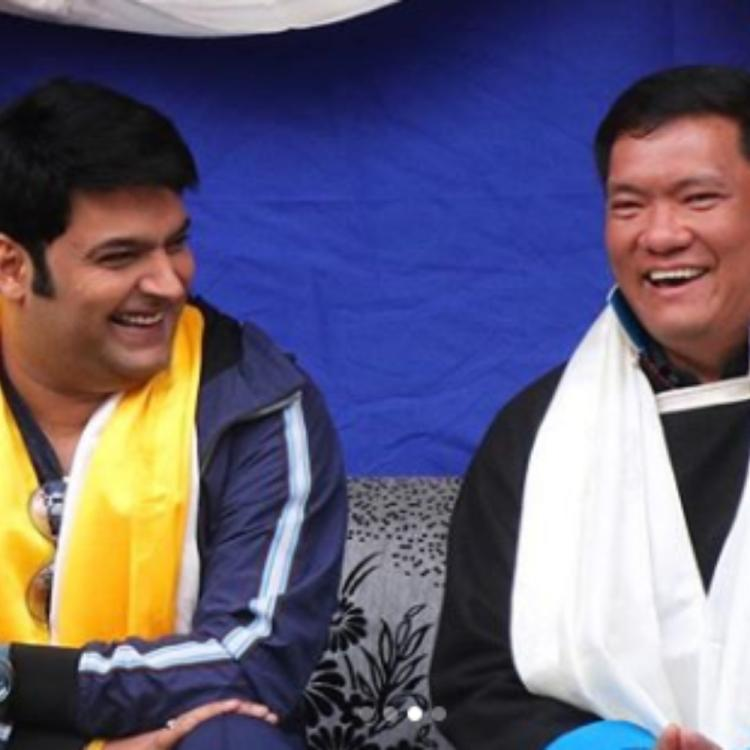Kapil Sharma expresses his gratitude towards Arunachal Pradesh CM for the latter's hospitality; View POST