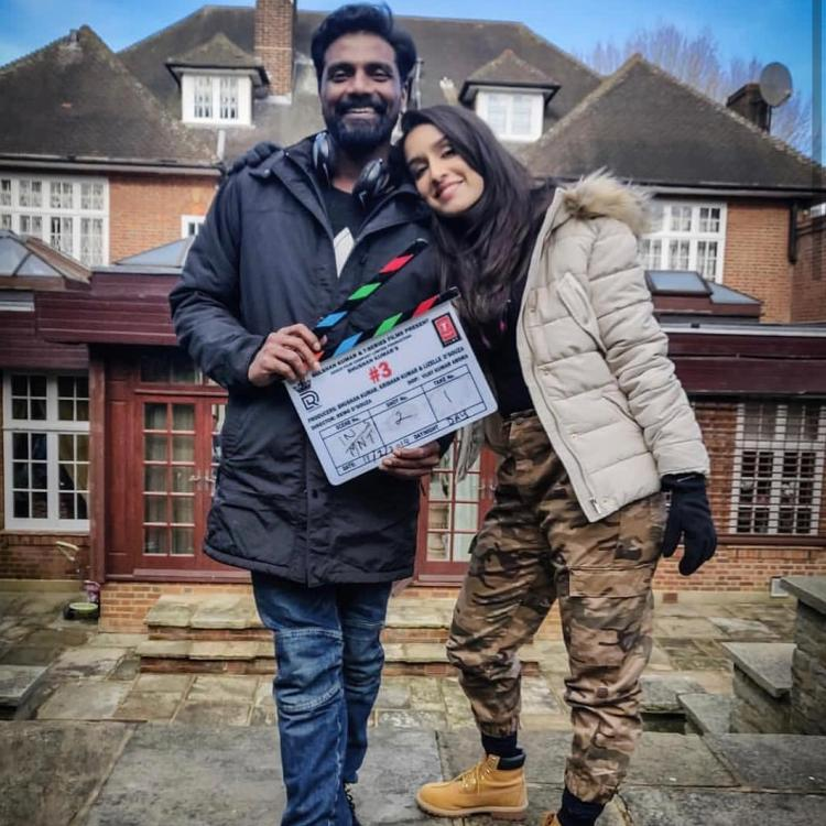 Street Dancer: Shraddha Kapoor and Remo Dsouza share an adorable picture as they kickstart the London schedule