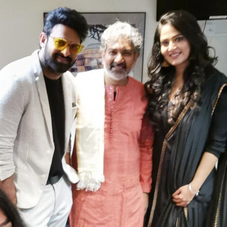 UNSEEN PHOTOS: Prabhas, Anushka Shetty and Rana Daggubati had a gala time in London