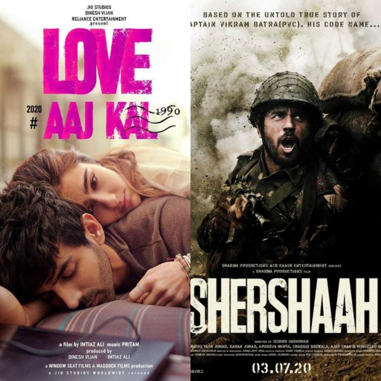 Love Aaj Kal vs Shershaah: Kartik, Sara's romance or Sidharth's valour; Which poster appealed the most to you?
