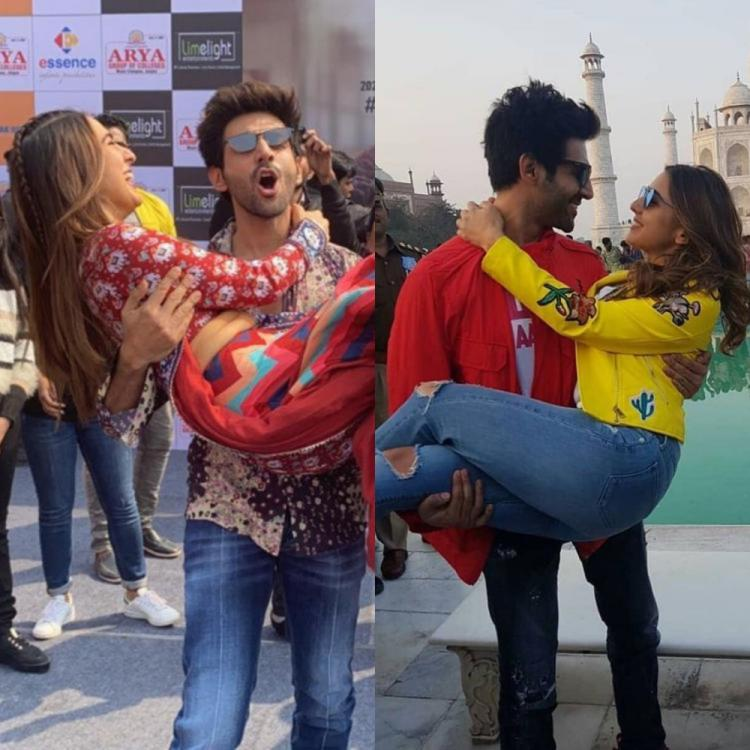 Love Aaj Kal: 5 times when Kartik Aaryan lifted Sara Ali Khan in his arms during the film's promotions