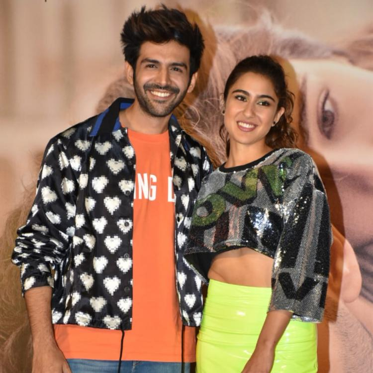 Love Aaj Kal Trailer Launch: Sara Ali Khan thanks the audience for accepting her and Kartik Aaryan as a pair