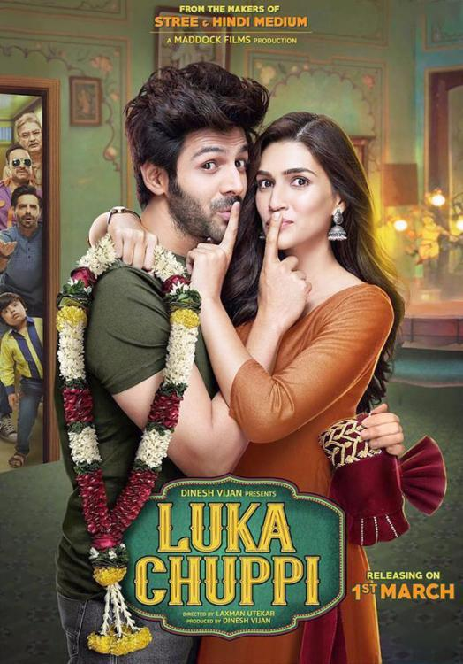 Luka Chuppi Box Office Collection: Kartik Aaryan, Kriti Sanon's live in relationship drama enjoys a good run
