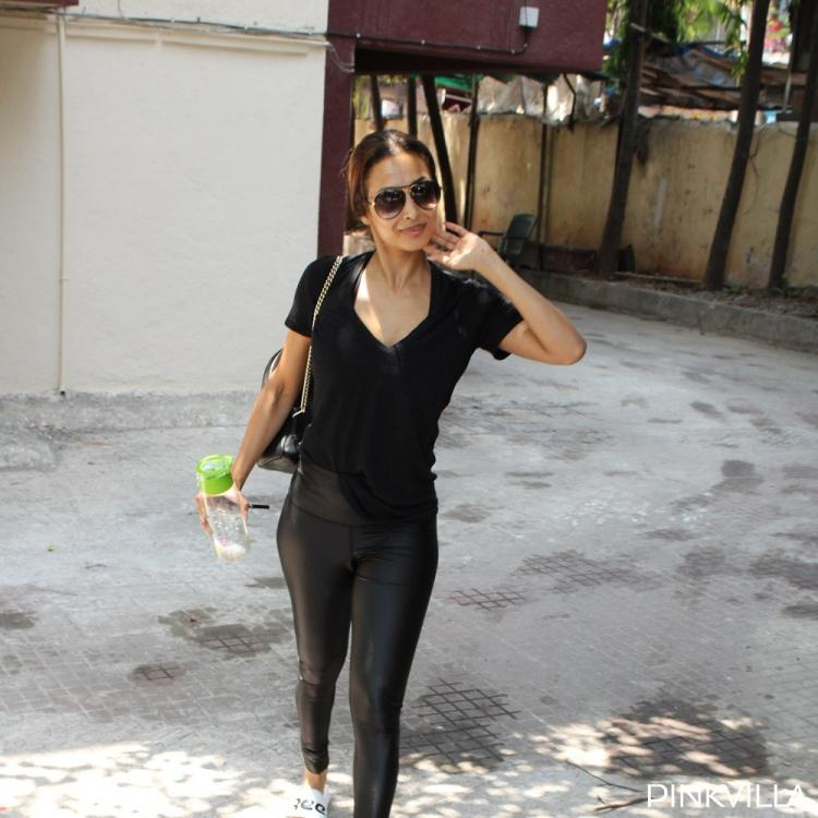 PHOTOS: Malaika Arora exudes chic as she opts for an all black outfit for her workout regime