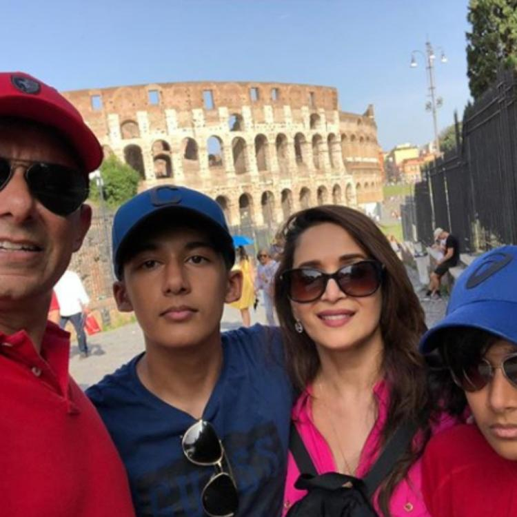Madhuri Dixit's latest pictures from her exotic vacation in Rome are giving us major holiday goals