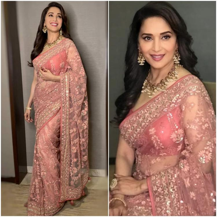 Celebrity Style,madhuri dixit,fashion,saree