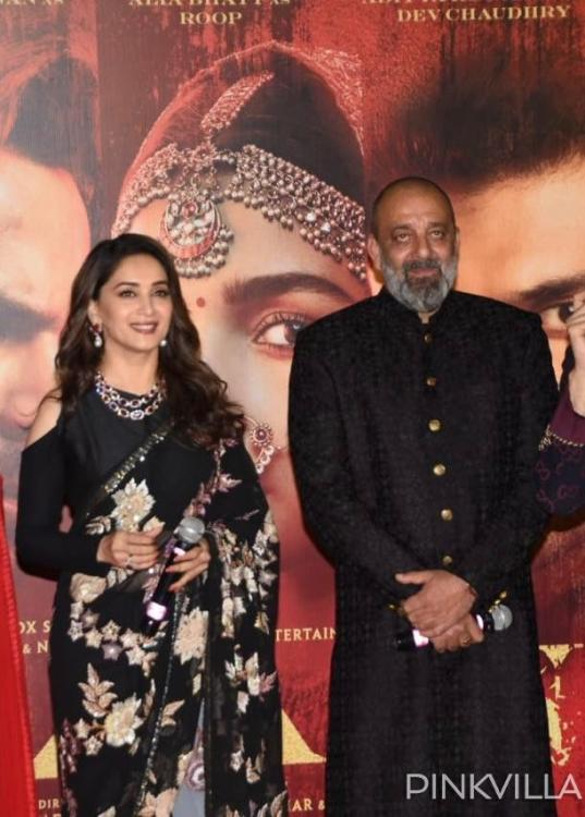 Kalank: Madhuri Dixit and Sanjay Dutt have to say THIS on working with each other after 22 years; see videos