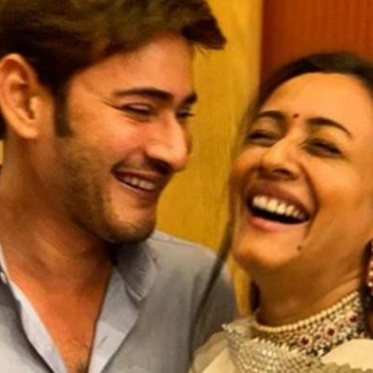 Mahesh Babu shares an adorable candid picture with wife Namrata Shirodkar on their Wedding Anniversary