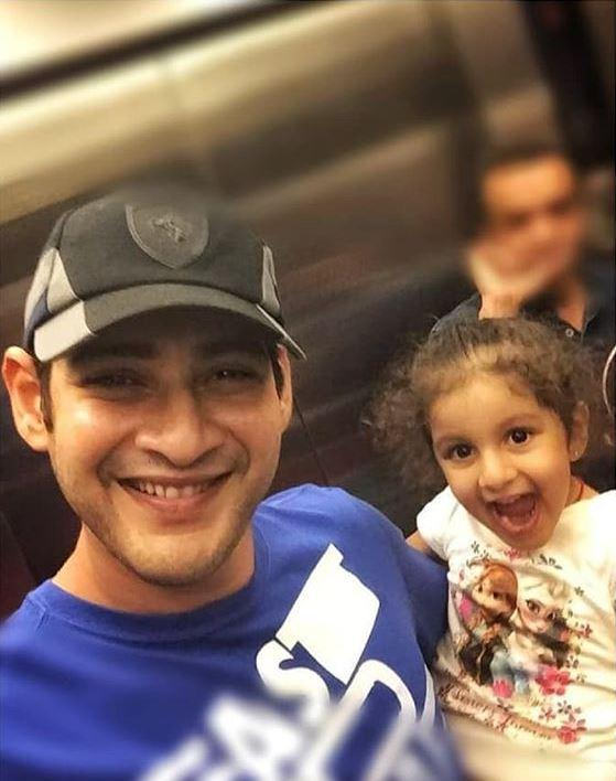 Image result for mahesh babu daughter