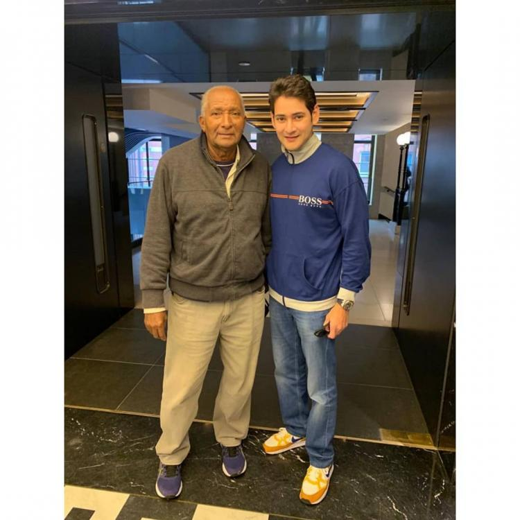 Mahesh Babu shares his fanboy moment as he meets former West Indies veteran bowler Sir Andy Roberts; See Pic
