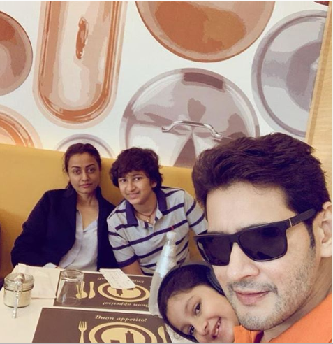 Mahesh Babu is 'London bound;' shares a picture with family as he celebrates Maharshi's success; view POST