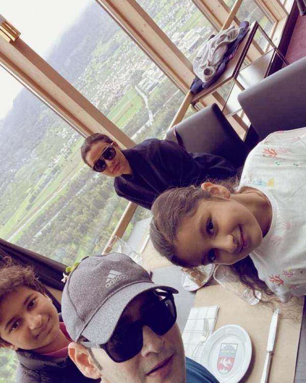PHOTOS: It's family time for Mahesh Babu, the superstar enjoys a vacation in Swiss with wife, kids