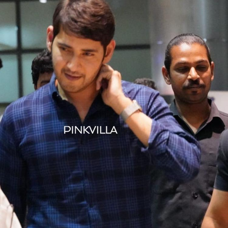 Mahesh Babu looks impeccable in casuals as gets spotted at the Hyderabad airport; See Photos