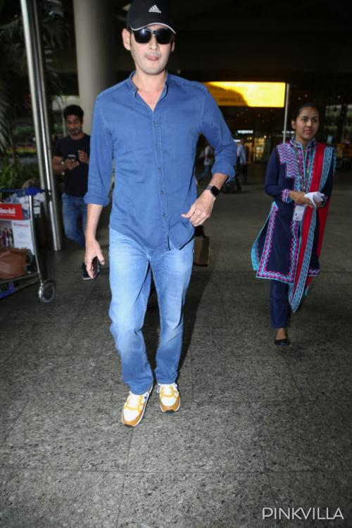 Airport Diaries: Mahesh Babu keeps it casual and looks charming as he arrives in Mumbai