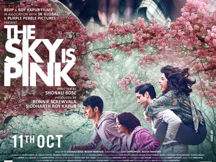 Priyanka Chopra,farhan akhtar,Reviews,Zaira Wasim,The Sky is Pink,the sky is pink review,the sky is pink movie review,the sky is pink story,the sky is pink cast,the sky is pink release date