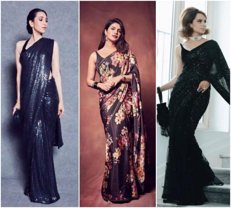 Love your LBD? THESE sarees will make you want to swap it for a drape