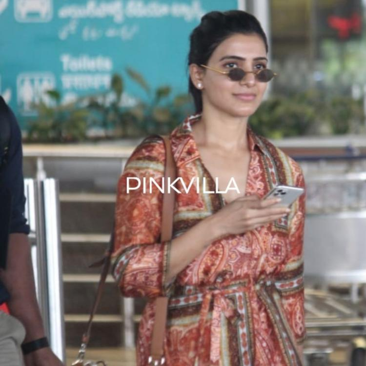 PHOTOS: Samantha Akkineni looks fabulous in casuals as she makes a stylish appearance at the airport