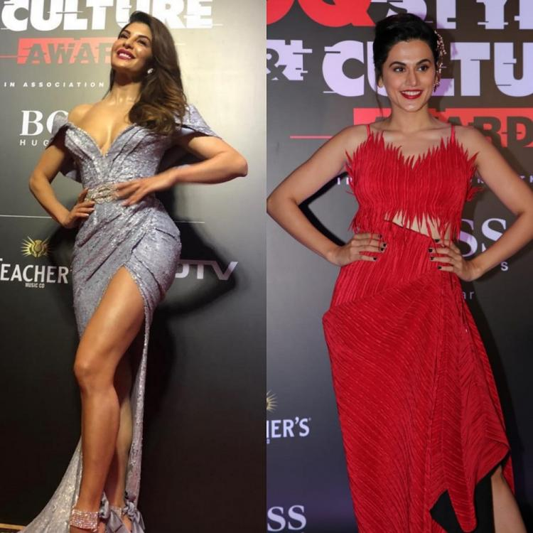 GQ Style Awards 2019: Jacqueline Fernandez glitters in silver, Taapsee Pannu makes a bold red appearance