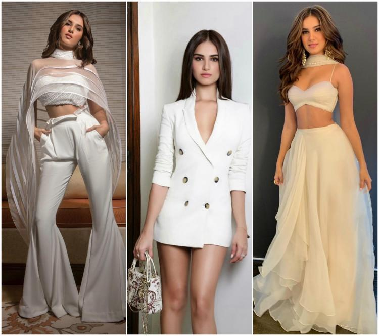 Tara Sutaria: Check out THESE all white looks from her wardrobe which are totally steal worthy