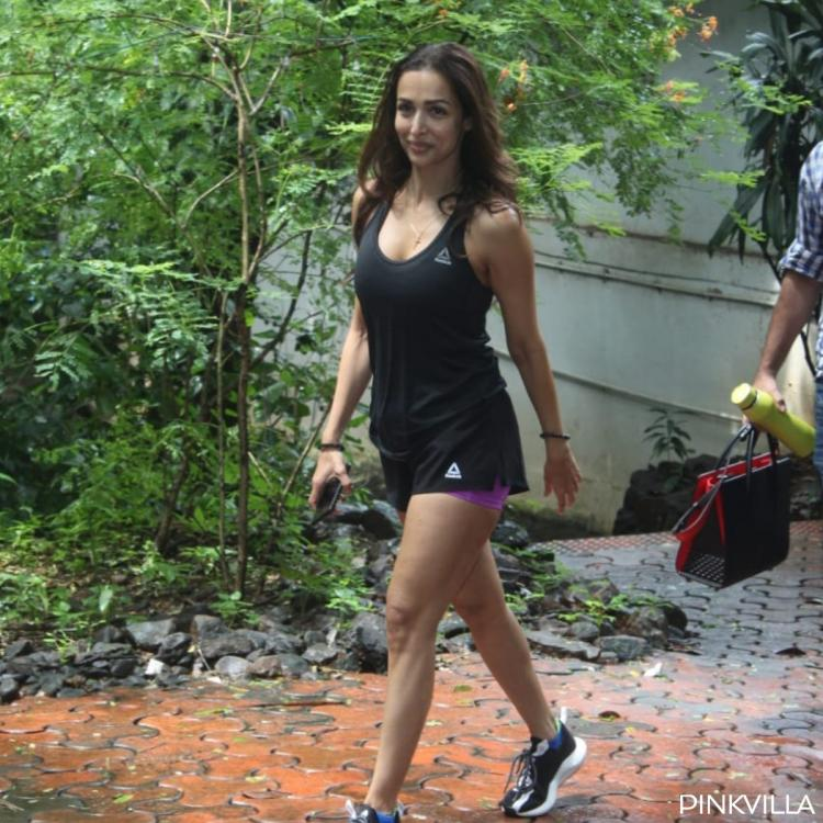 PHOTOS: Malaika Arora steps out for dance class & we cannot stop singing Saawan Mein Lag Gayi Aag