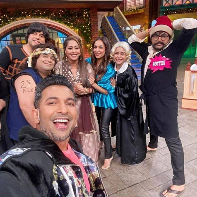 Malaika Arora has a blast on the sets of The Kapil Sharma Show and here's proof; Check it out