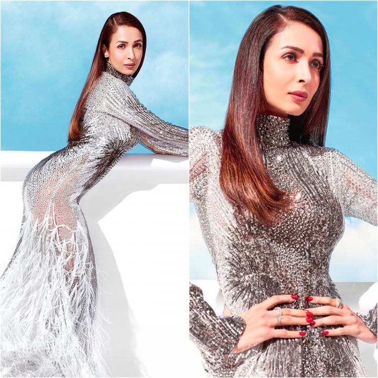 Yay or Nay?: Malaika Arora is an absolute sequin dream in Atelier Zuhra