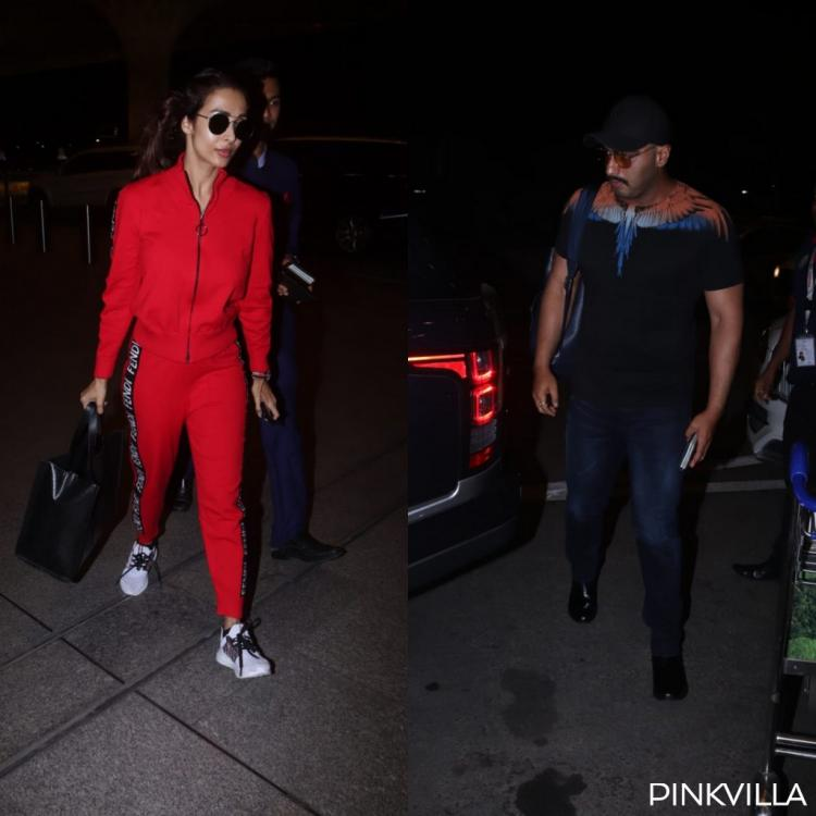 PHOTOS: Malaika Arora and Arjun Kapoor were snapped at the airport and we are wondering where are they off to