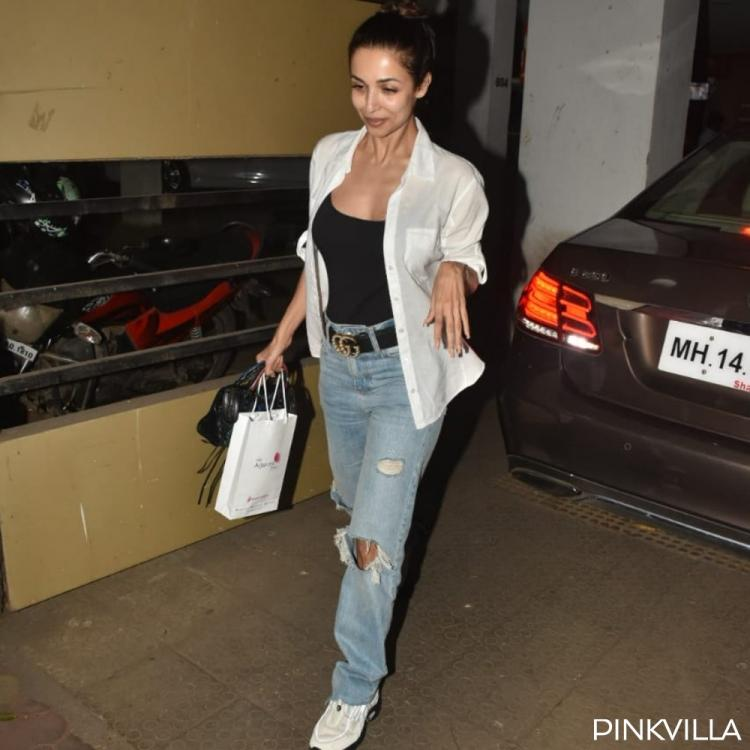 PHOTOS: Malaika Arora looks effortlessly chic as she steps out of a clinic in the city
