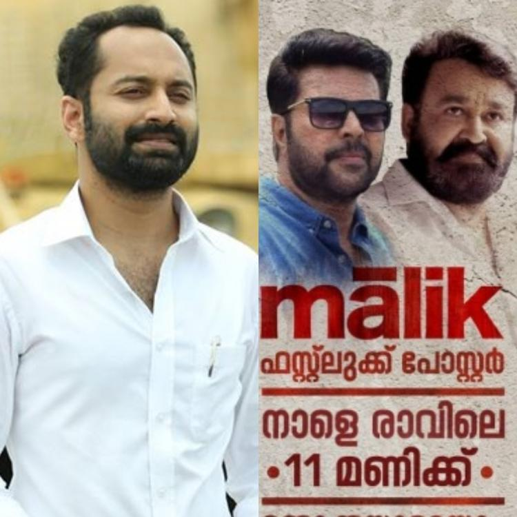 Mohanlal & Mammootty to release the first look poster of Fahadh Faasil's Malik on THIS date; Find Out