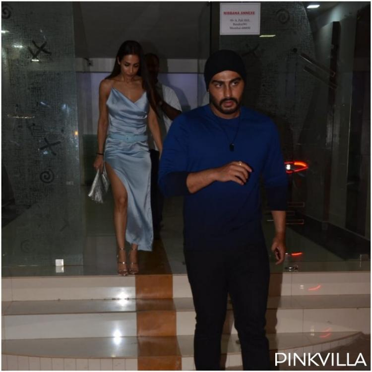 PHOTOS: Lovebirds Malaika Arora and Arjun Kapoor spend Saturday night together as they go out partying