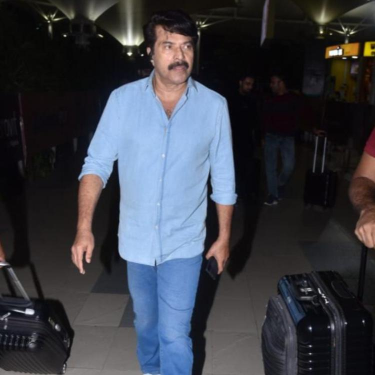 Mamangam: Mammootty arrives in the city to promote his upcoming magnum opus; View Pics