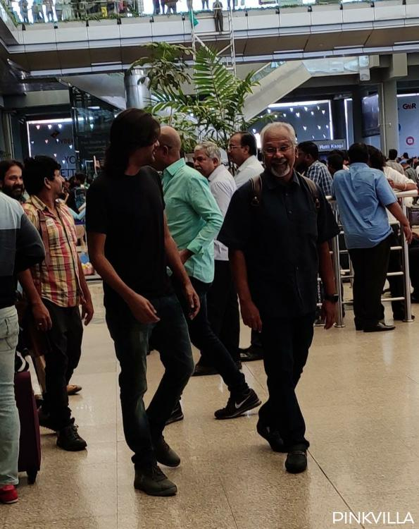 PHOTOS: Mani Ratnam spotted at the Hyderabad airport; travels for the recce of Aishwarya Rai Bachchan starrer?