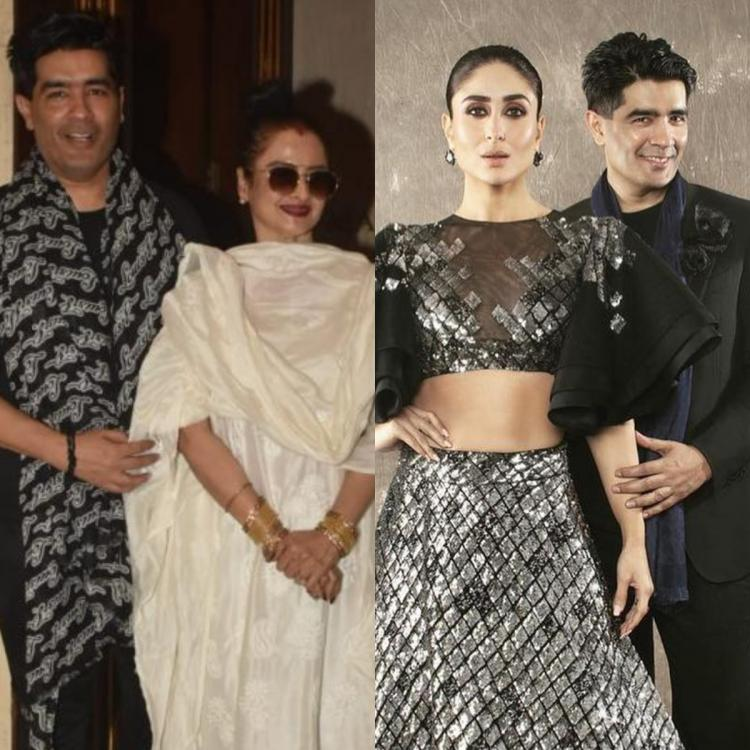 'Rekha always has her glam on point' says Manish Malhotra who spills beans on beauty and Bollywood divas
