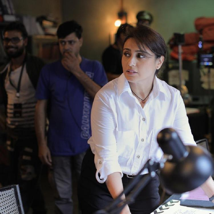 Rani Mukerji gets a special gift from art director of Mardaani 2 after the wrap up of the schedule