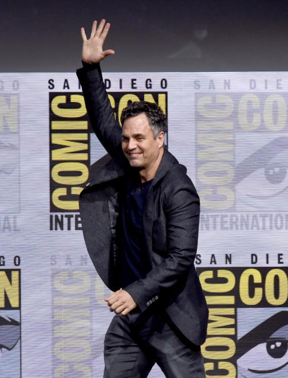 Mark Ruffalo is famously known for playing The Hulk in the Marvel Cinematic Universe.