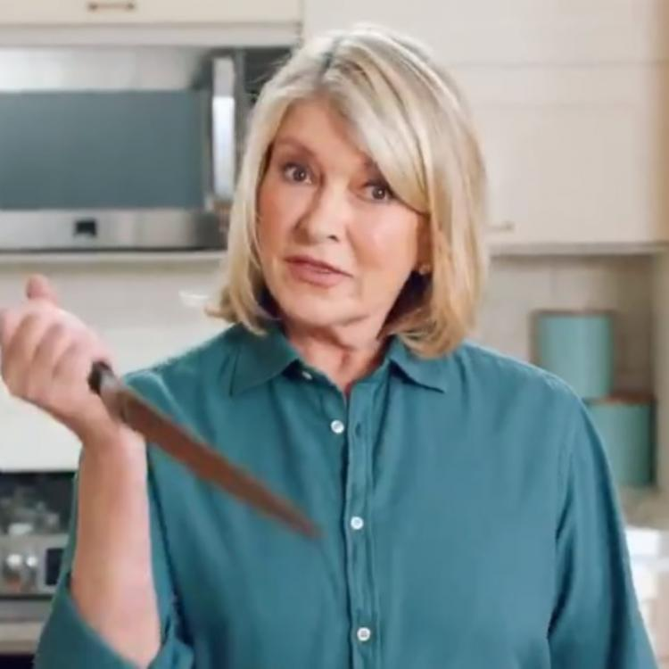 Knives Out: Martha Stewart has a freaky take on the film in the spoof video; WATCH