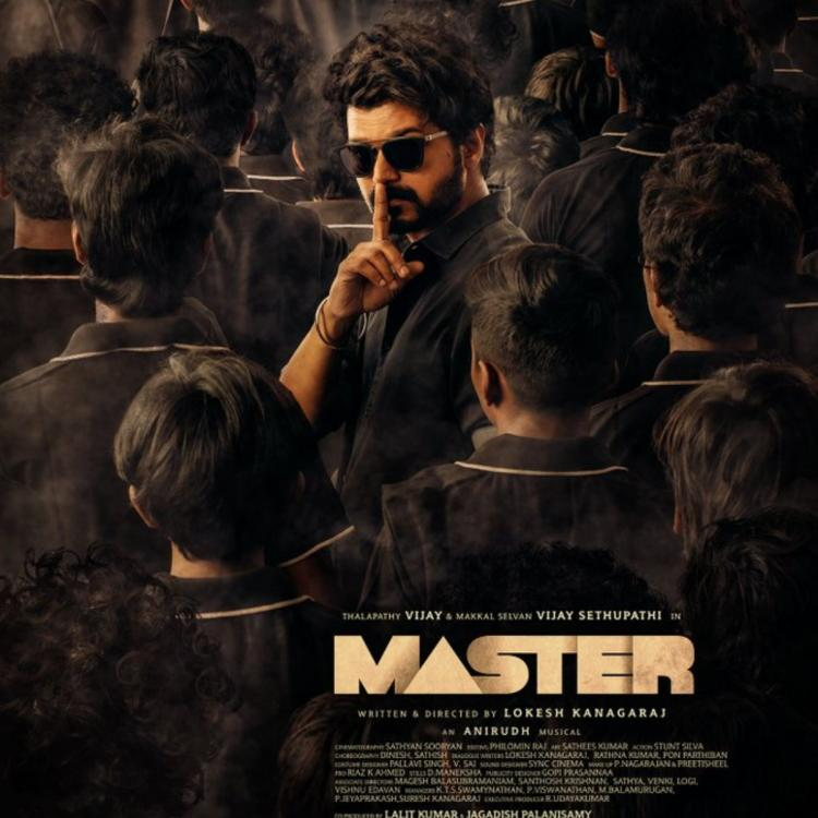 Master New Poster: Vijay Thalapathy shows off his cool avatar as he turns on the 'please be silent' mode