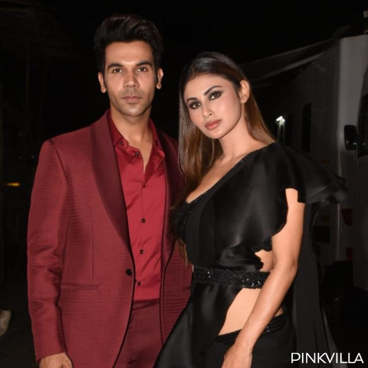 PHOTOS: Rajkummar Rao & Mouni Roy look super classy as they step out for Made in China promotions