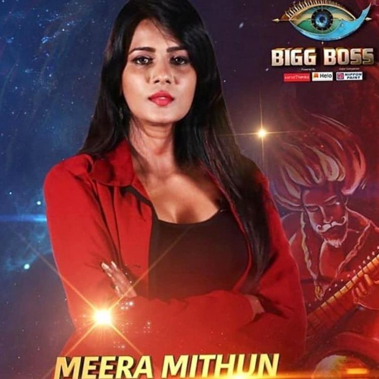 South,South,Bigg Boss Tamil 3,Meera Mithun