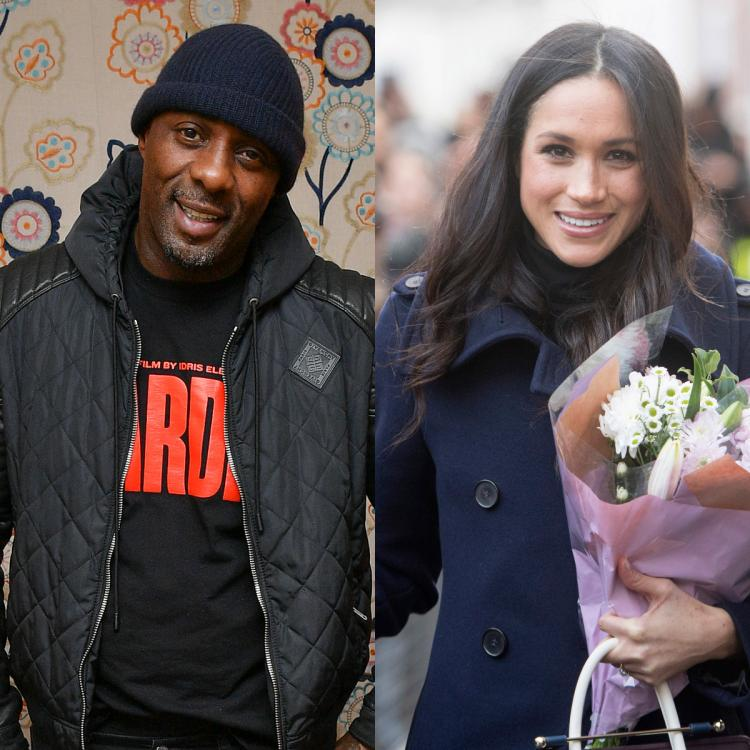 Meghan Markle,idris elba,Hollywood
