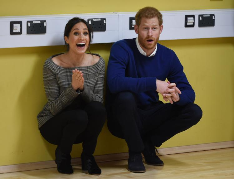 Prince Harry and Meghan Markle follow a plant-based diet of organic foods.